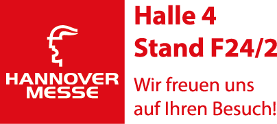Hanover Messe 2016 - Halle 4 Stand F24/2